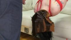 Tinie Goth Girl Gets Tied Up, Waterboarded With Piss, And Assfucked