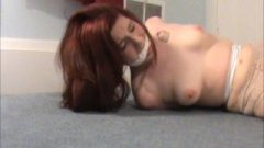 Sweet Ginger Bound And Gagged