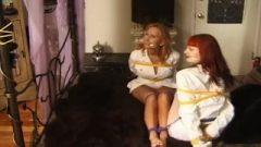 Sabrina And Loren Bound And Gagged