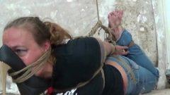 DizD@t Brenda Jeans Shoe Over Face Hogtie