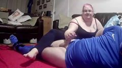 Footballer Gagged, Hogtied Tight And Abused By Femdom 2