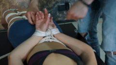 Hogtied Slave