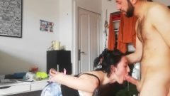 SUBMISSIVE STUDENT PUNISHED TIED UP GETS MOUTH FUCK AND DEEPTHROAT