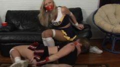 Cheerleader Bondage Catfight