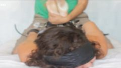 Mexican Girl Tamara Hogtied Ticklish