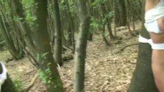 Two Girls Captured Tree Tied! POV Woodland Bondage HD