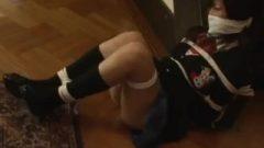 Tied Up Nippon School Girl