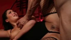 Metrovideos – Flirtatious London Keyes Tied Up And Smashed Raw