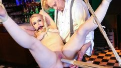 Badtimestories – Enormous Boobs German Cougar Receives Tied Up And Abused In Bdsm Kink