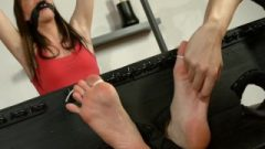 Choked Feet Tickled And Bound Toes Abby