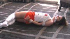 Brooke Hooters Bargirl Tied Up