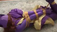 Ludella Hahn Batgirl Tied Up