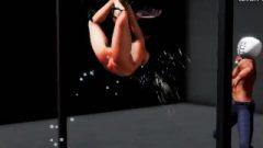 【2段階】裸体鞭刑拷问室-naked Torment Room-裸拷問室