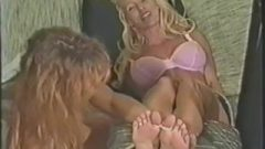 Vintage Vixen Feet Caressing Part1