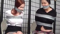 Nice Chubby Japanese And Buddy Taped Up