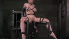 Vixen Babe Interrogated With Electricity