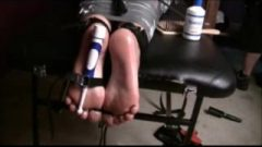 Toe Tied Stimulate Torture
