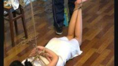 BDSM In White Cheongsam